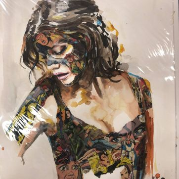 Sandra Chevrier, She killed a man, print original