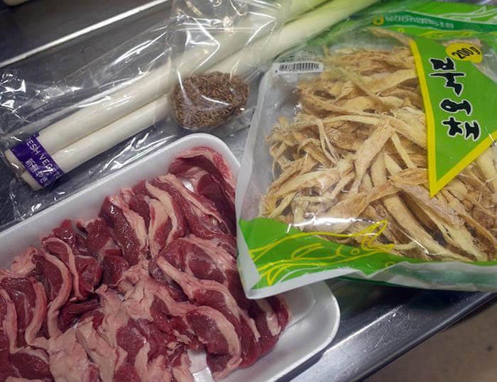 ラム肉のクミン炒め