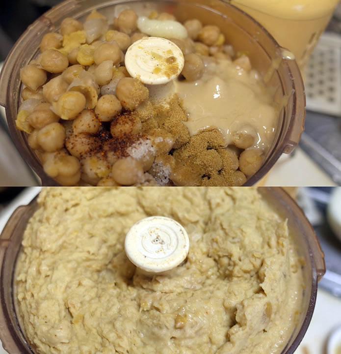 ひよこ豆のフムス