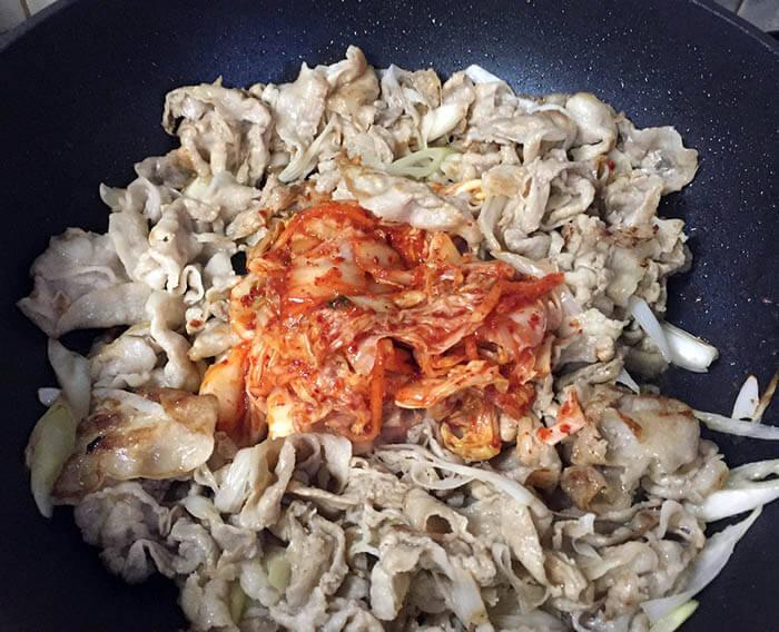 豚キムチ風回鍋肉