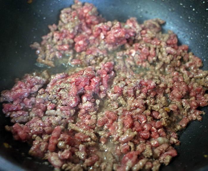 松阪牛のあらびきひき肉
