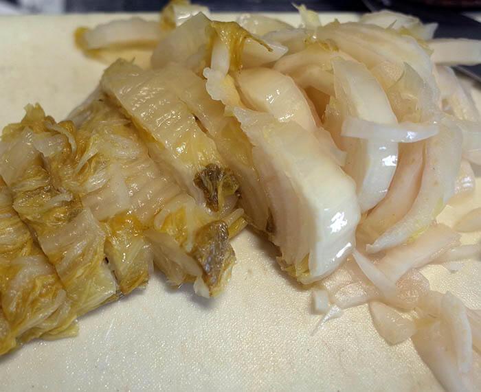 乳酸発酵白菜漬け