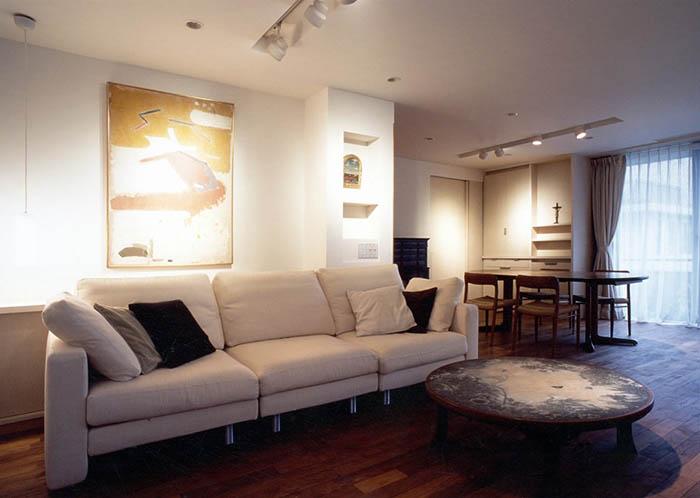 現在アートのあるマンションリフォーム_白金台K邸