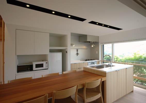 別荘リフォームのキッチン