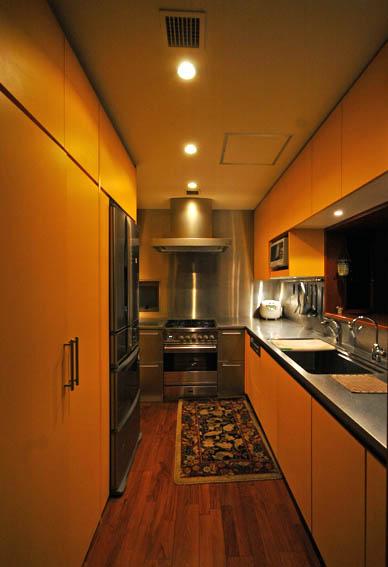 高輪S邸キッチン