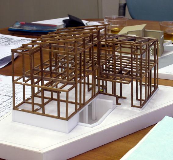 木造軸組模型