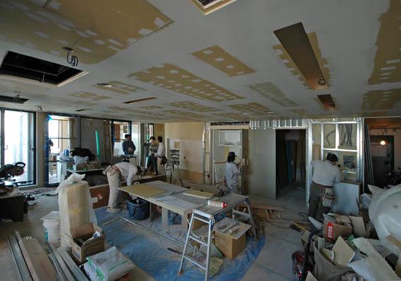 六本木ヒルズレジデンス リノベーション工事現場
