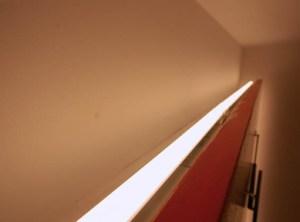 LEDシームレスライトを使った間接照明