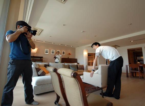 白金台S邸 インテリア写真撮影