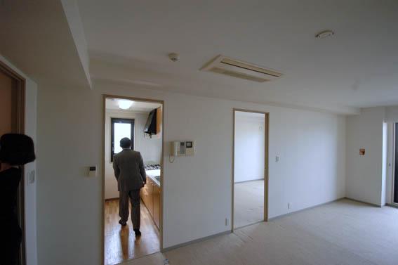 西麻布のマンションリフォーム工事着工前