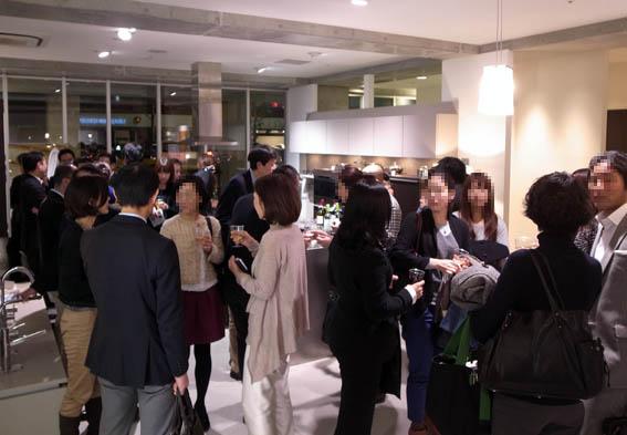 セミナー後のパーティー@広尾ポーゲンポールSR