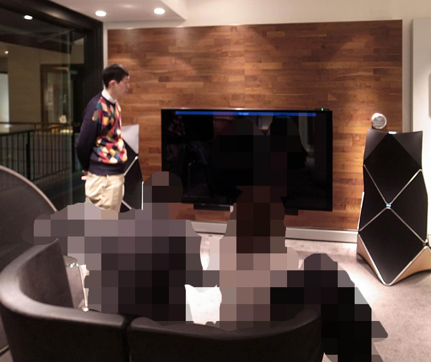 B&O六本木ショールームでのシアタールーム体験