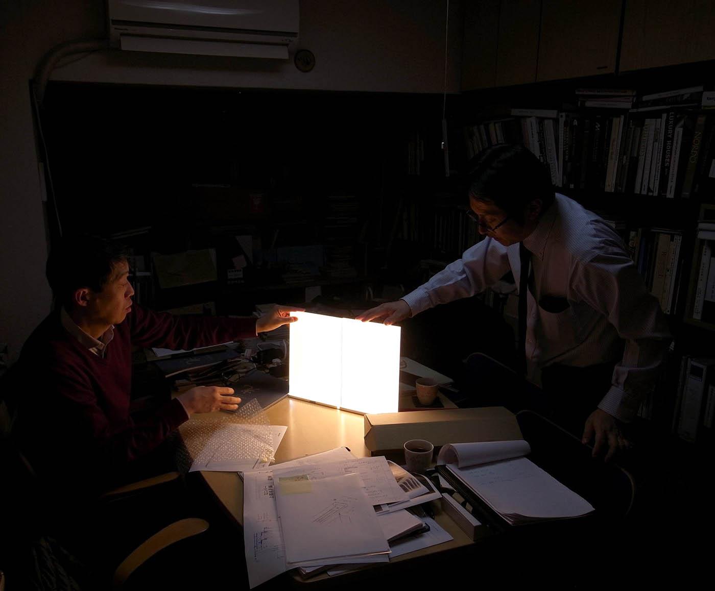LEDの面照明