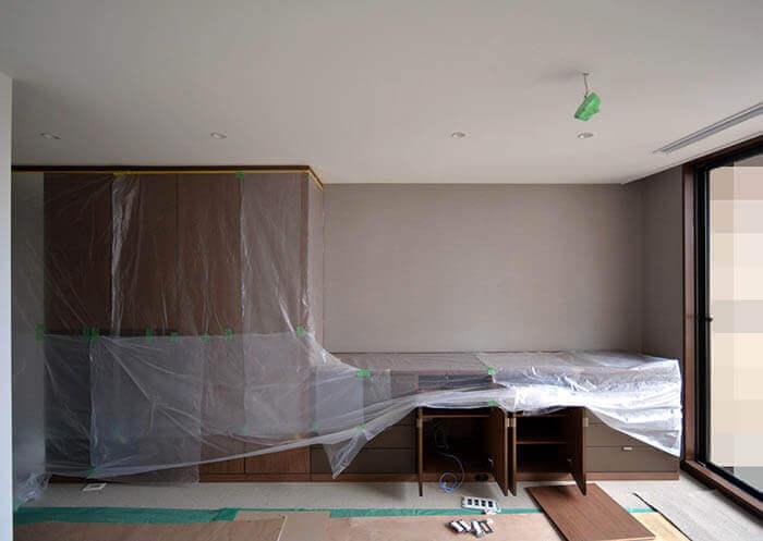ギャラリー収納_大谷産業の壁面クローゼット家具