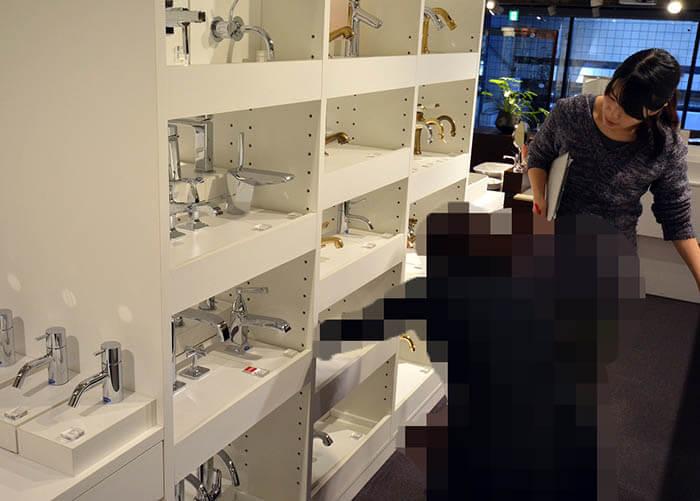 乃木坂セラショールームで水栓探し