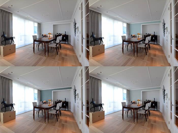 壁塗装の色味確認用イメージ写真