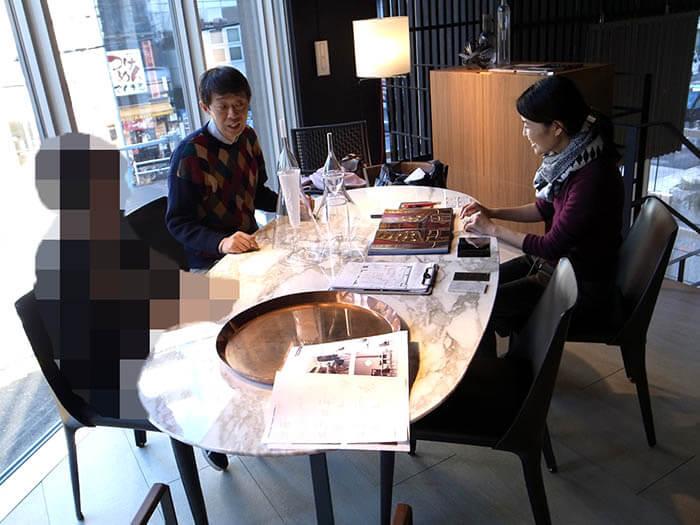 フレックスフォルム_高級輸入家具ショールームでのダイニングテーブル選び