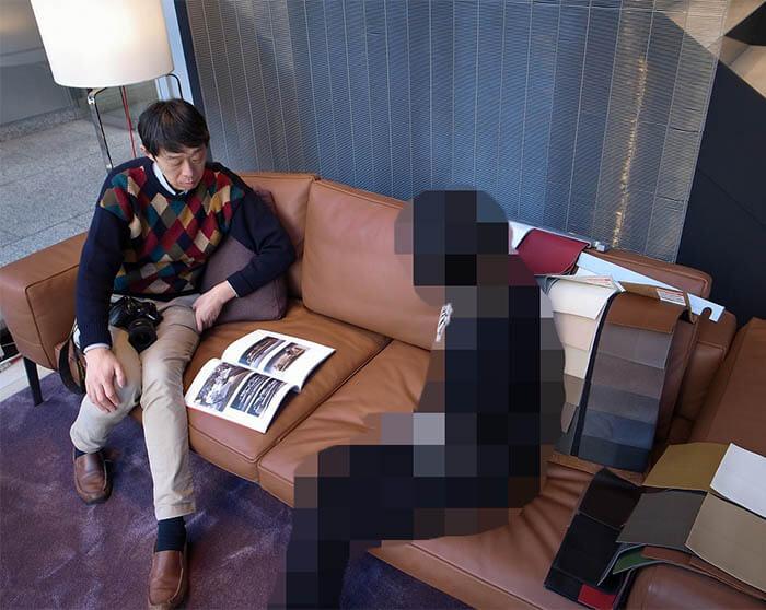 フレックスフォルム_高級輸入家具ショールームでのソファ選び