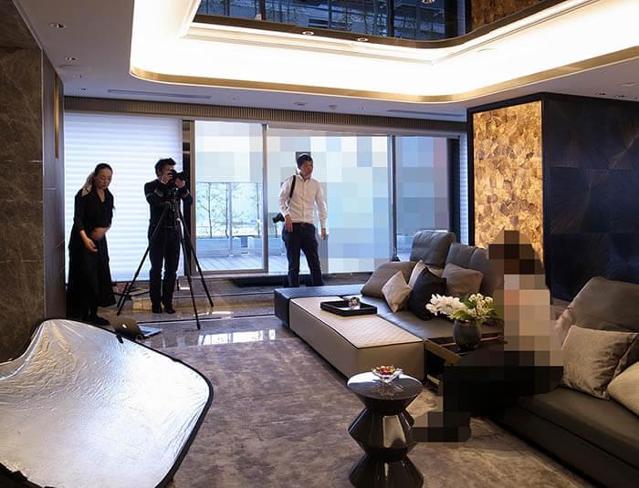港区R邸リノベーションの取材撮影_家庭画報
