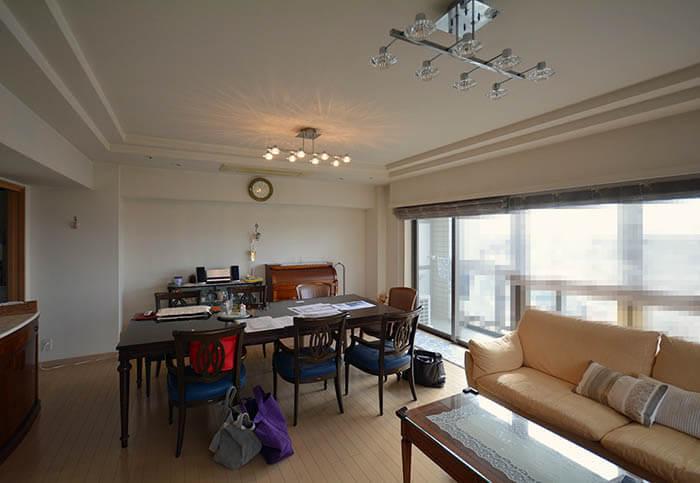 横浜K邸 リビングダイニング現況写真