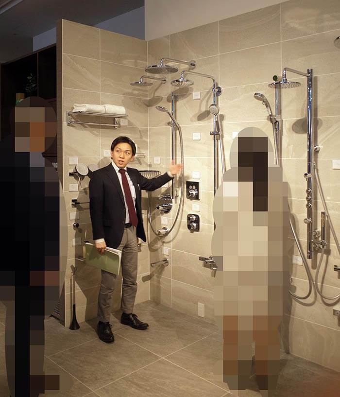 水回りシャワー水栓ショールーム訪問