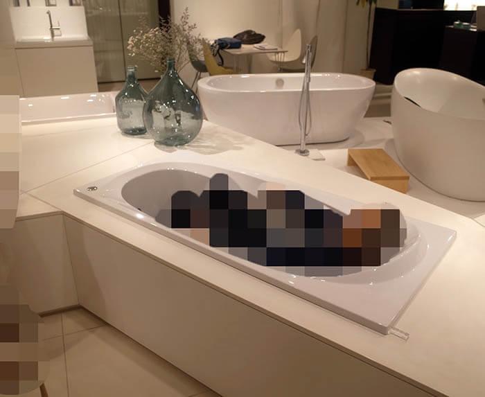 セラ浴槽ショールーム訪問