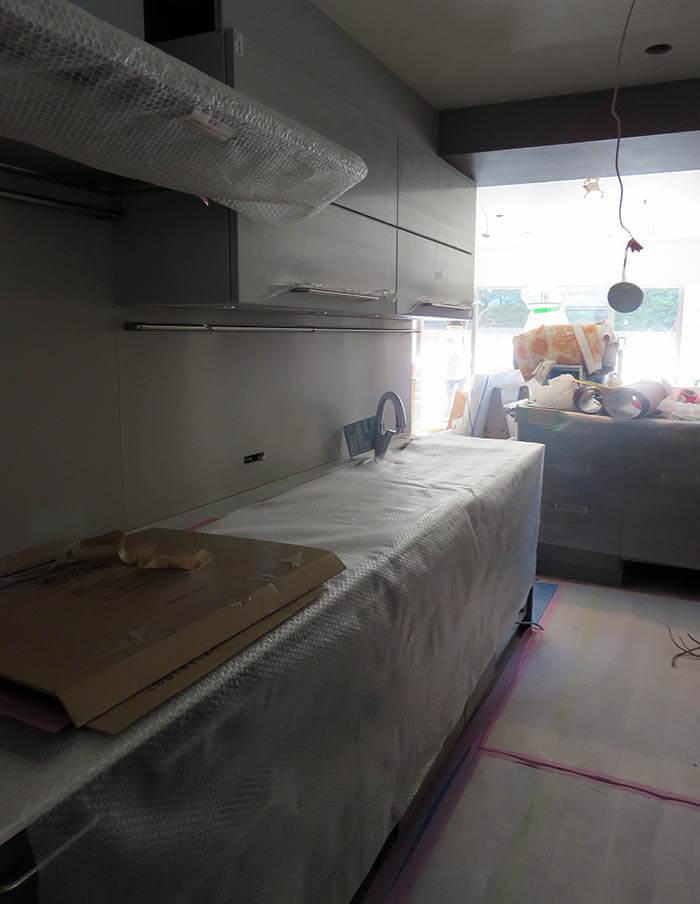 リブコンテツのオーダーキッチン