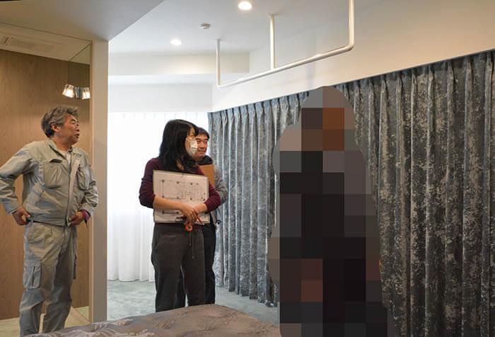 主寝室の取り扱い説明