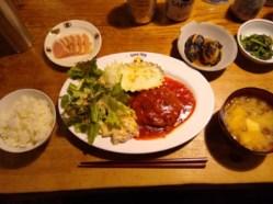 コロボックルヒュッテの食事:夕食、