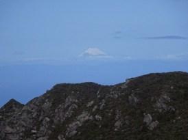 最高点からの富士山