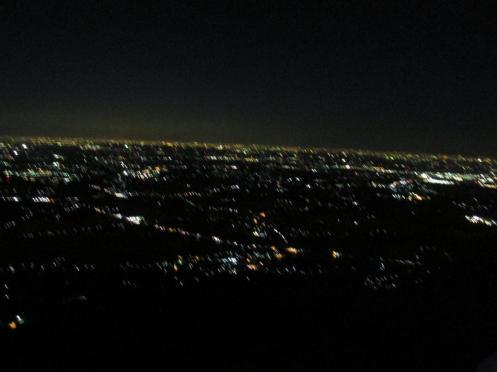 つくば市の夜景
