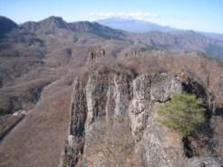 高岩山山頂よりの展望