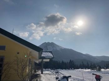丸沼側からの白根山は富士山みたいに見える
