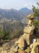 男体山、女峰山など日光連山の眺望
