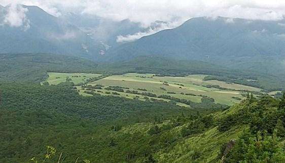 四阿山からの展望