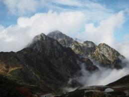 劔沢より見る剱岳