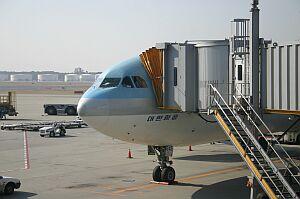 釜山へのチケット確保