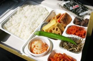 【再録】列車で食べる、弁当とキンパプ
