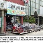【再録】自転車のいる街