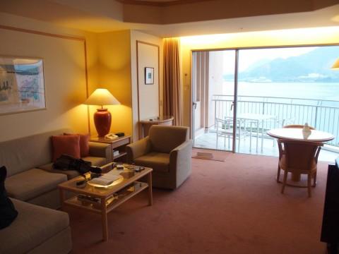 淡島ホテルの部屋
