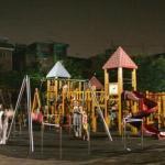 夜22時の児童公園