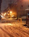 ソウルに初雪