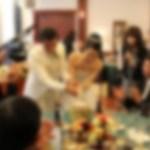 従兄弟の結婚式