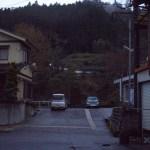 路地裏の遺跡