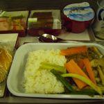 成田-仁川線の機内食