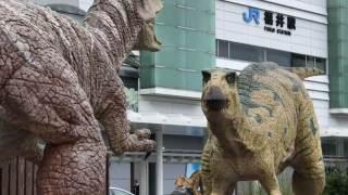 福井駅前恐竜広場