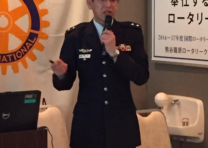 「日本を取り巻く安全保障環境について」後藤雅人様の貴重なお話し