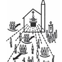 活動団体中心の教会