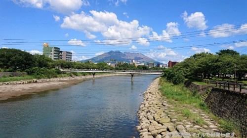 桜島 甲突川