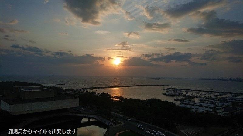 マニラ湾 夕日